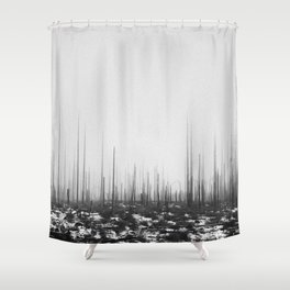 The King's Ire Shower Curtain