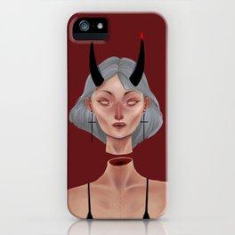 Demon (Red Version) iPhone Case