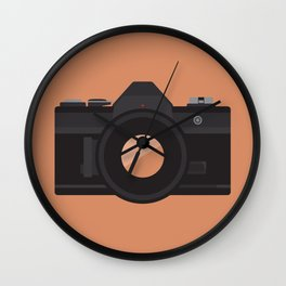 Camera Series: AE-1 Wall Clock