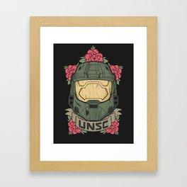 Halo UNSC Framed Art Print