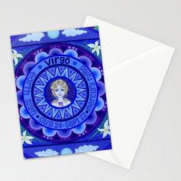 Astrological Sign of Virgo Stationery Cards