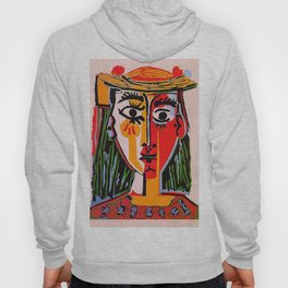 Head of a woman in a Hat Picasso Hoody