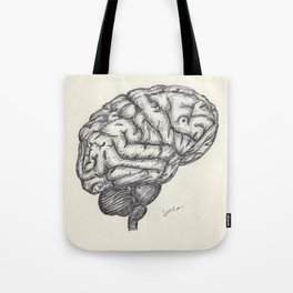 BALLPEN BRAIN 2 Tote Bag
