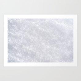 Snow Blanket Art Print
