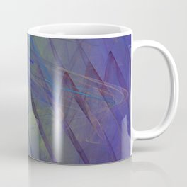 Straight on the Line Coffee Mug