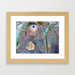 Divine Eye Tree Framed Art Print