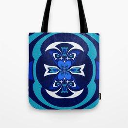 Pacific Northwest Coast Native Medallion Tote Bag