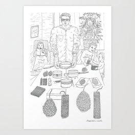 beegarden.works 010 Art Print
