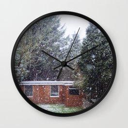 Neve em Londres - 5 Wall Clock