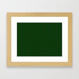 MacLean Tartan Framed Art Print