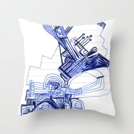 1996 x 07 Throw Pillow