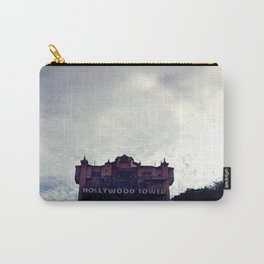 Haunted Hotel Under Cloudy Sky Carry-All Pouch