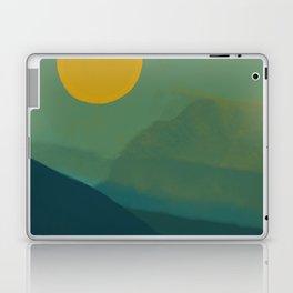 The Hills Felt Green That Evening Laptop & iPad Skin