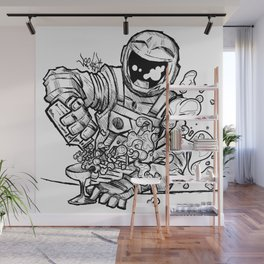 Space Bar Wall Mural