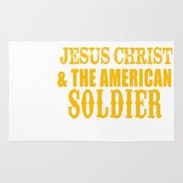 ARMY JESUS Rug