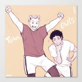 team owls! Canvas Print