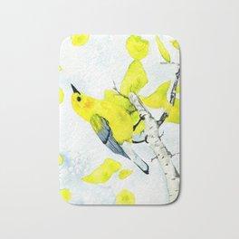 Prothonotary Warbler Bath Mat