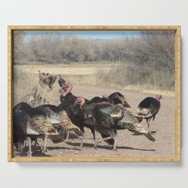 Turkey time Serving Tray