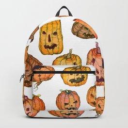 Halloween Pumpkin Party Backpack