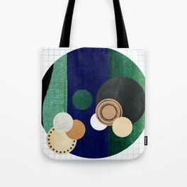 the study of circles... Tote Bag