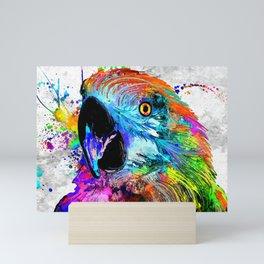 Ara Parrot Mini Art Print