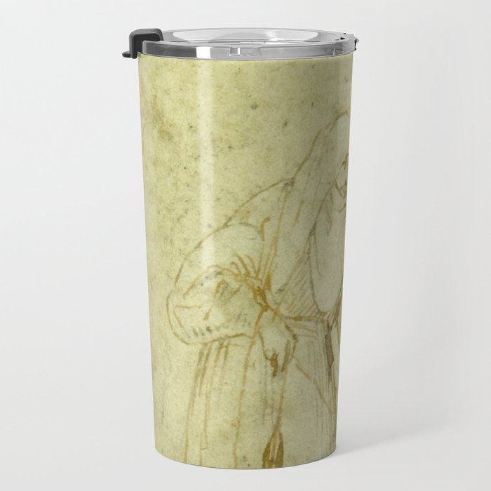 Two witches by Hieronymus Bosch Travel Mug