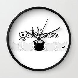 Gatetemon Logos Wall Clock