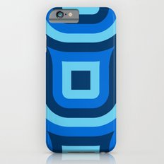Blue Truchet Pattern Slim Case iPhone 6s