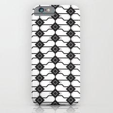 Cat box pattern iPhone 6s Slim Case