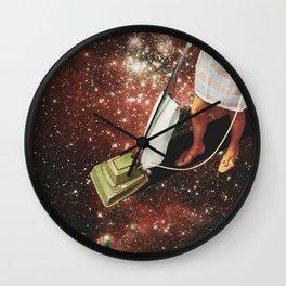 Star-dust - Vacuum cleaner Wall Clock