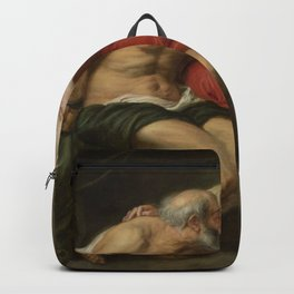 Peter Paul Rubens - Cimon and Pero (Roman Charity) Backpack