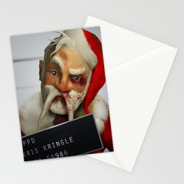 Kris Kringle: The 2 hours & 45 Minutes Before Christmas Stationery Cards