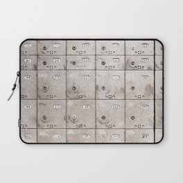 Chests with numbers Laptop Sleeve