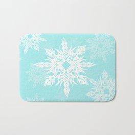 Snowflakes Bath Mat