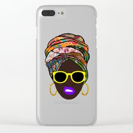 Afritude Clear iPhone Case