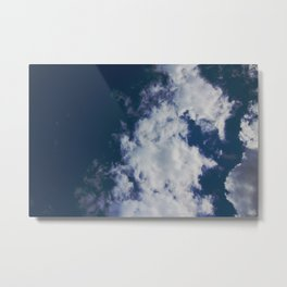 Wonky Clouds Metal Print