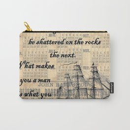 Count of Monte Cristo quote Carry-All Pouch