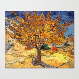 The Mulberry Tree by Vincent van Gogh Canvas Print