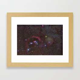 Orion constellation Framed Art Print