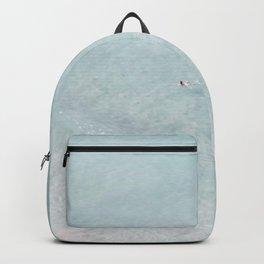 beach - the swimmer Backpack