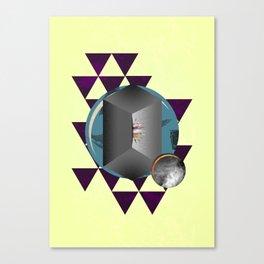 The Fold Canvas Print
