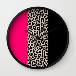 Leopard National Flag IV Wall Clock