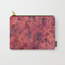 Coral Clouds Carry-All Pouch