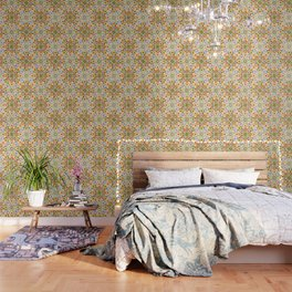Pastel Geometric Wallpaper