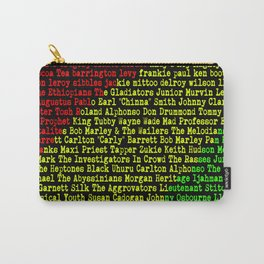 Reggae Artist - Roll Call Carry-All Pouch