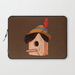 Woodpecker´s house Laptop Sleeve