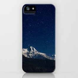 Starscape in Nepal iPhone Case