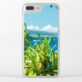 Kahanu Garden Clear iPhone Case