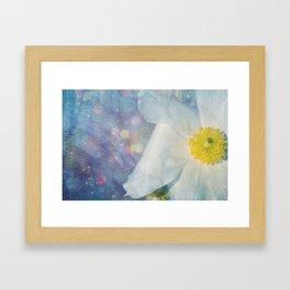 Blue.d.iful flower Framed Art Print