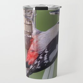 Great Spotted Woodpecker 3 Travel Mug